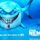 Finding Nemo in 3D In Cinema Ver B Vinyl With Adhesive Backing 24x36