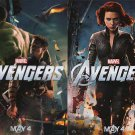Avengers Mini Ver A Original Movie Poster Double Sided 13 x19
