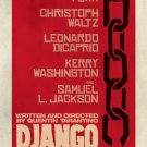 Django Advance Original Movie Poster Double Sided 27x40