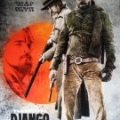 Django Intl Original Movie Poster Double Sided 27x40