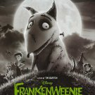Frankenweenie Original Movie Poster Double Sided 27x40