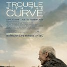 Trouble With The Curve Original Movie Poster Double Sided 27x40