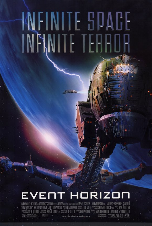 Event Horizon Original Movie Poster Singe Sided 27x40
