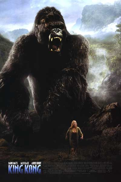 King Kong Version B Original Movie Poster Double Sided 27x40