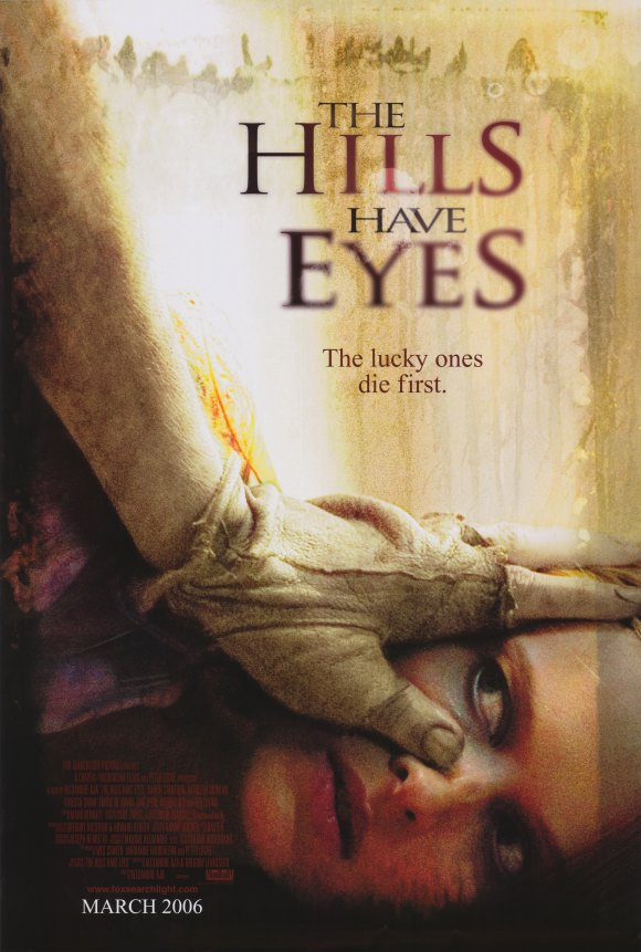 Hills have Eyes Original Movie Poster Double Sided 27x40