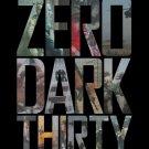 Zero Dark Thirty Version B Original Movie Poster Double Sided 27x40