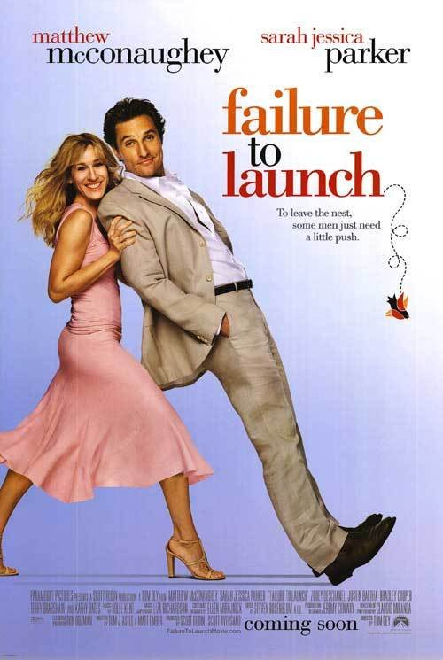 Failure to Launch Original Movie Poster Double Sided 27x40