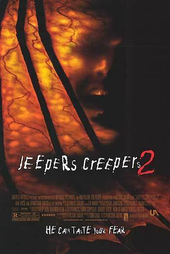 Jeepers Creepers 2 Original Movie Poster Single Sided 27x40
