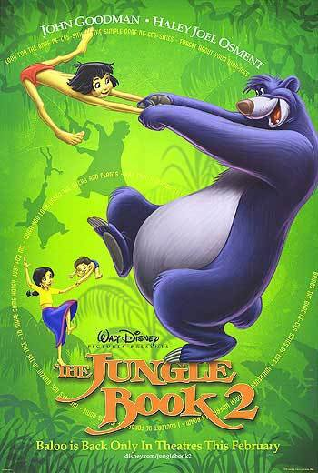 Jungle Book 2 Original Movie Poster Double Sided 27x40