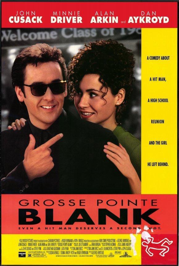 Grosse Pointe Blank  Original Movie Poster Single Sided 27x40