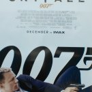 Skyfall Regular December Imax  Original Movie Poster Double Sided 27 X40