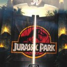 Jurassic Park 3D  Original Movie Poster Double Sided 27 X40