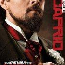 Django Unchained : Leonardo Di caprio Original Movie Poster Double Sided 27x40