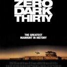 Zero Dark Thirty Regular Original Movie Poster Double Sided 27x40