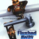 Flushed Away Version A Original Movie Poster  Double Sided 27 X40