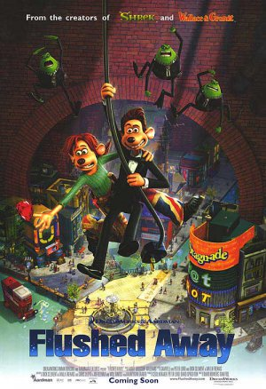 Flushed Away Regular Original Movie Poster  Double Sided 27 X40