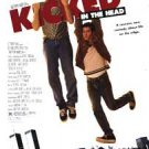 Kicked In The Head Original Movie Poster Single Sided 27x40