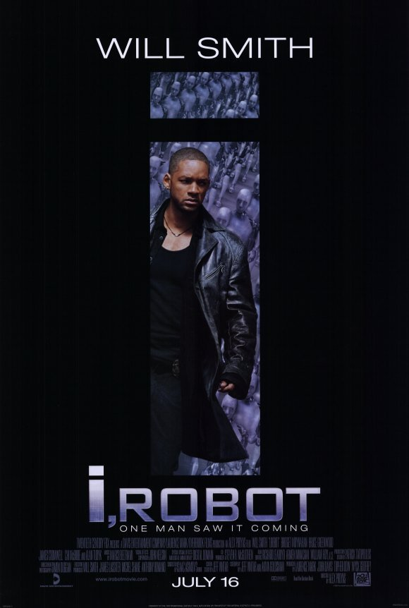 I Robot Regular Original Movie Poster Single Sided