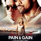 Pain & Gain Original Movie Poster Double Sided 27x40