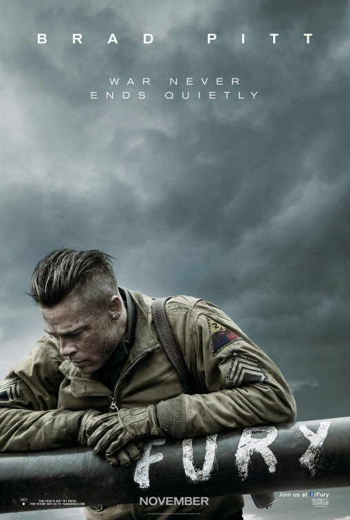 Fury Advance Original Movie Poster Double Sided 27x40