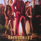 Anchorman Intl Original Movie Poster Double Sided 27x40