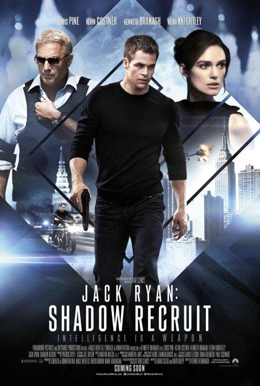Jack Ryan : Shadow Recruit Original Movie Poster Double Sided 27 X40