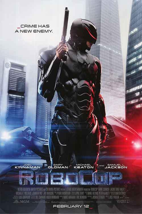 Robocop Regular Original Movie Poster Double Sided 27x40
