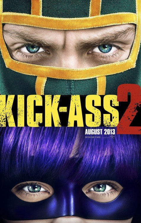 Kick-Ass 2 Advance Original Movie Poster Double Sided 27x40