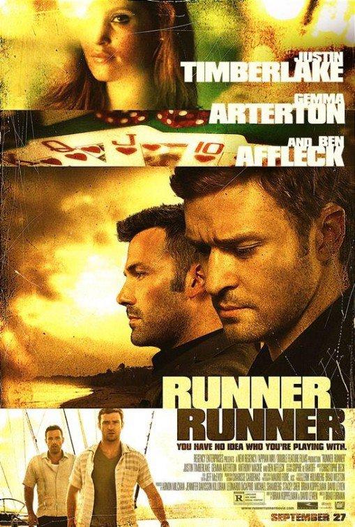 Runner Runner Original Movie Poster Double Sided 27x40
