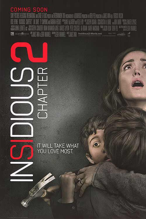 Insidious  Chapter 2 Original Movie Poster Double Sided 27x40