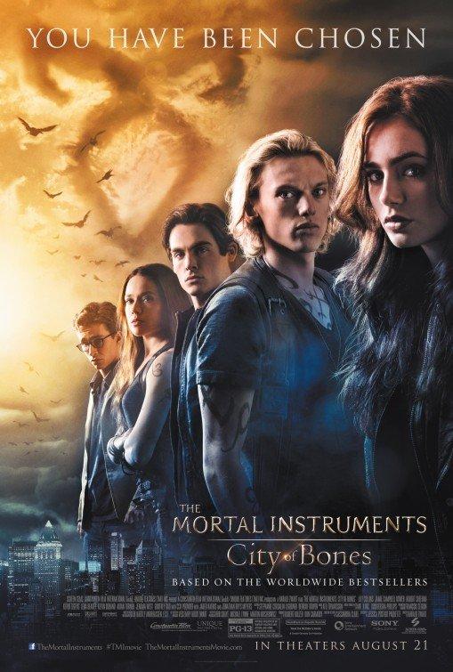 Mortal Instruments : City Of Bone Regular Original Movie Poster Double Sided 27x40