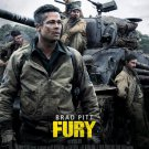 Fury Regular Original Movie Poster Double Sided 27x40