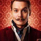 Mortdecai Advance Original Movie Poster 27x40 Double Sided