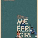 Me and Earl and the Dying Girl  Original Movie Poster Double Sided 27x40