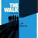 The Walk Advance Original Movie Poster Double Sided 27x40