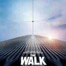 The Walk Version C Original Movie Poster Double Sided 27x40