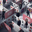 Now You See Me Final Original Movie Poster Double Sided 27x40