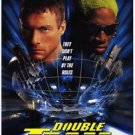 Double Team Double Sided Original Movie Poster 27x40 inches