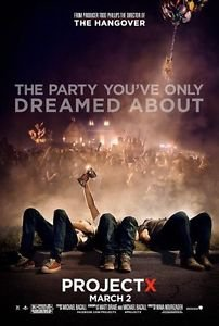 Project X Advance B Double Sided Original Movie Poster 27x40 inches