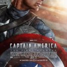 Captain America Double Sided Original Movie Poster 27x40 inches