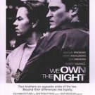 We Own the Night  Double Sided Original Movie Poster 27x40 inches