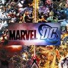 Marvel VS Dc Style b Poster 13x19