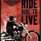 Harley Davidson Style T Poster 13x19