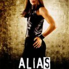 Alias Tv Show Poster Original Movie Poster Single Sided 27x40 inches