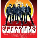 Scorpions Poster Style A 13x19 inches