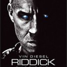 Riddick 2013 Original Double Sided Movie Poster 27x40 inches