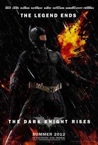 Batman Dark Knight Rises Style A Movie Poster 13x19 inches