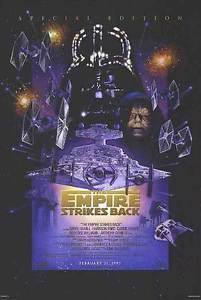 Star Wars Empire Strikes Back Movie Poster Original Single Sided 27x40 inches