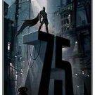 Batman 75th Anniversary Movie Poster 13x19 inches