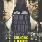Changing Lanes Double Sided Original Movie Poster 27x40 inches